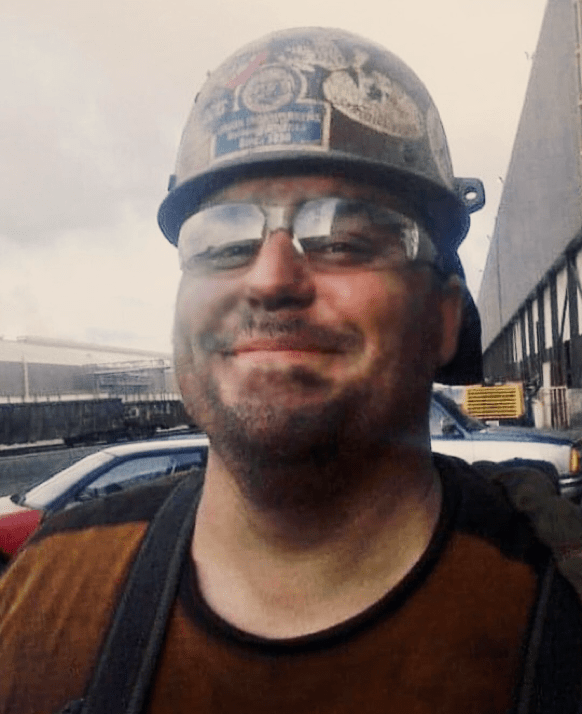A Union Employee in a Hard Hat